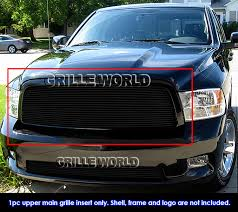 2007 dodge ram grille for 2009 2012 dodge ram 1500 black billet grille grill insert 2010