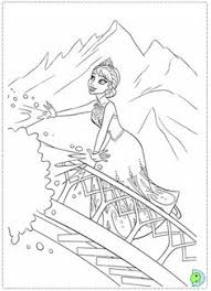 coloring pages frozen elsa let it go frozen coloring pages disney frozen elsa cold in the snow