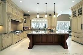 two tone painted cabinet kitchen remodel grey and white two toned