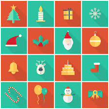 flat vector christmas ornaments and icons free icon packs ui