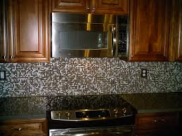 mosaic glass tile backsplash kitchen ideas span new x red