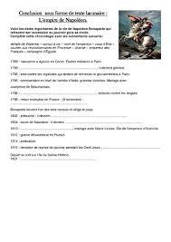 questionnaire mariage document questions empire de napoléon exercices les temps
