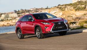 lexus rx red lexus rx turbos get new sport packages automotorblog