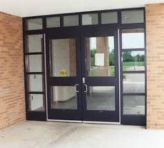 commercial exterior glass doors commercial doors arizona glass u0026 door connection