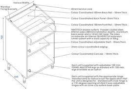 Kitchen Cabinet Carcase Specification - Kitchen cabinet carcase