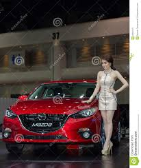 mazda new model mazda new model presented in motor show editorial image image