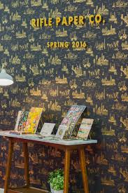 Rifle Paper Company Wallpaper Quilt Market Comings And Goings Cotton And Steel Camelot
