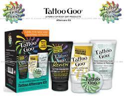 tattoo aftercare cream uk tattoo goo original tattoo aftercare kit glamour shop uk