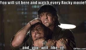 Rocky Meme - million dollar baby