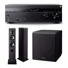 sony home theater subwoofer sony strdn1070 receiver w tower speakers u0026 subwoofer focus camera