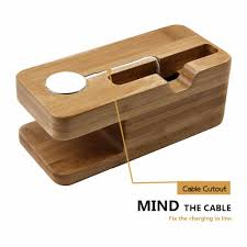 Diy Multi Device Charging Station 100 Bamboo Wood Multi Device Charging Station Phone Stand And