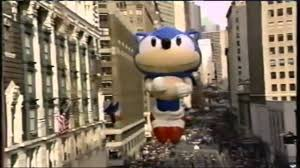 sonic s history in the macy s thanksgiving day parade