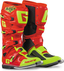 gaerne sg12 motocross boots gaerne sg12 boots answer racing red hi vis yellow gaerne mens