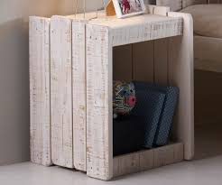 tree house nightstand in rustic sand finish 1382rs solid wood