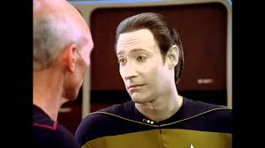 data star trek tng you u0027re not human youtube