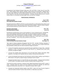 Web Developer Resume Examples by Download Sql Developer Resume Haadyaooverbayresort Com