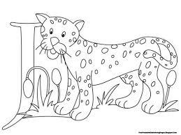 jaguar alphabet coloring pages printable 530646 coloring pages