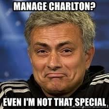 Mourinho Meme - sacked once they knew diane is the real special one jose