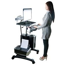 Stand To Sit Desk by Sit And Stand Computer Workstation
