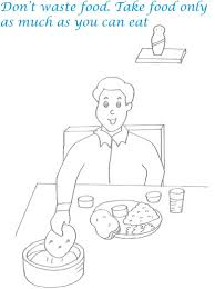 stunning table manners coloring pages on on coloring page design