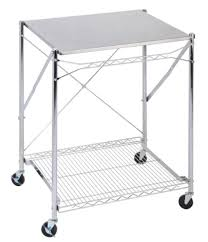 Stainless Steel Folding Table Stainless Steel Folding Work Table Kitchen Cart