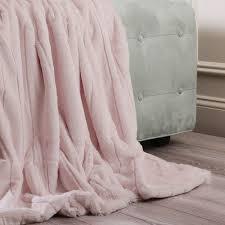 light pink throw blanket luxe mink faux fur throw blanket color light pink size 84 x 58
