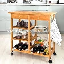 kitchen cart with wine rack u2013 abce us