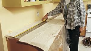 recouvrir un comptoir de cuisine l impact éclatant d un nouveau dosseret rénovation bricolage