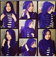 10 new hijab tutorials to try the muslim