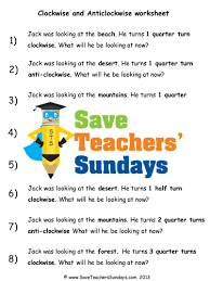 whole half and quarter turns by tarnbop teaching resources tes