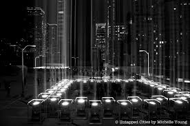 9 11 Memorial Lights Behind The Nyc Tribute In Light Honoring The Victims Of 9 11 And