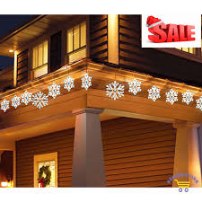 lights decoration snowflake icicle outdoor lightshow