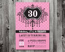 30th birthday party invitation wording ideas new party ideas