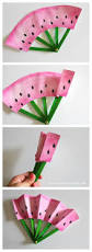 diy fruit fans kids craft simple craft ideas simple crafts and