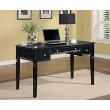 coaster computer desk black