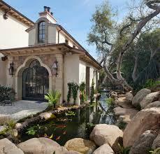 garden rocks ideas exterior design delightful pond design for your home exterior
