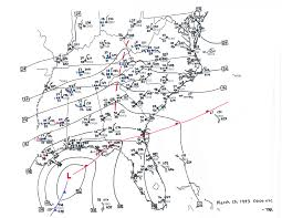 Richmond Ky Map Superstorm Of 1993