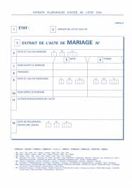 acte de mariage en ligne gratuit extrait d acte de mariage plurilingue extraits plurilingues