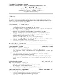 Resume Builder Canada Financial Advisor Resume Template Resume Builder