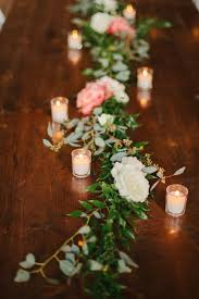 candle runners 353 best centrepieces images on marriage wedding