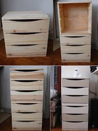 bloc tiroir pour bureau transformer un bloc tiroir en meuble de bureau du goût et des couleurs