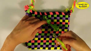 i love laces shoelace purse by creativity for kids youtube