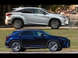 lexus is 350 road test 2016 lexus rx 350 vs 2016 lexus rx 450h interior exterior and