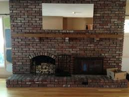 large dark living room with brick fireplace paint color help please