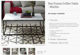 How To Clean Marble Table by Dsk Steph My Dream Discontinued West Elm Marble Coffee Table