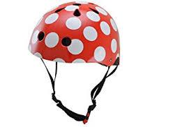 design fahrradhelm design fahrradhelm rot mit weissen punkten de sport