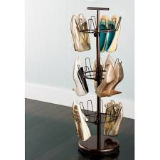 Container Store Shoe Cabinet Bronze 3 Tier Shoe Tree The Container Store