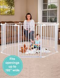 Fireplace Child Safety Gate by Super Wide Baby Gate And Play Yard