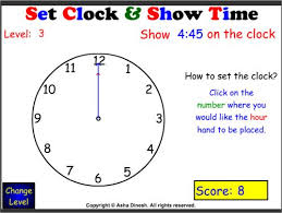 clock worksheets online clock and show time