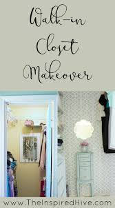 how to give your walk in closet a makeover master bedroom closet